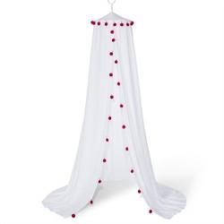 Pom Pom Bed Canopy White - Pillowfort™