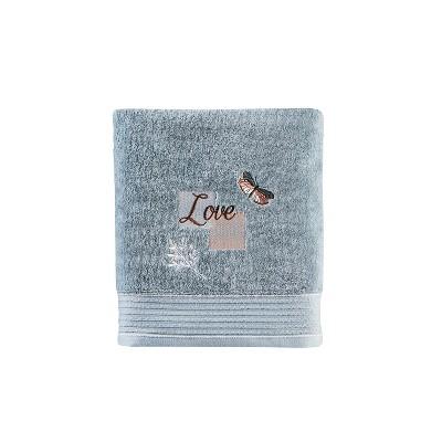 New Hope Bath Towel Aqua - Saturday Knight Ltd.