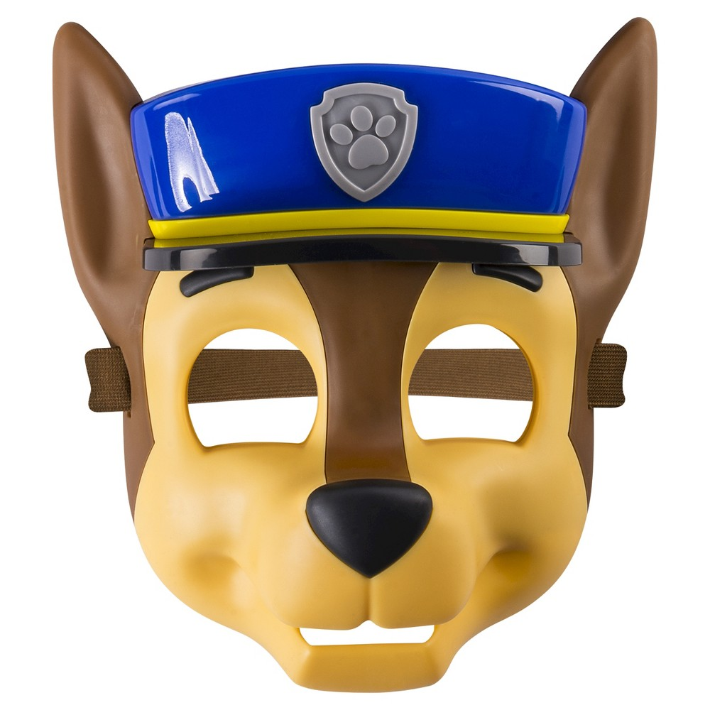Paw Patrol - Pup Mask - Chase, Size: Small, Multi-Colored