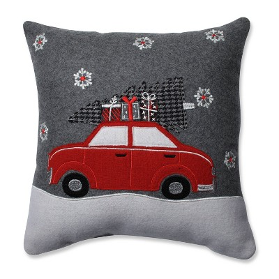 """16""""x16"""" Gift Car Square Throw Pillow - Pillow Perfect"""