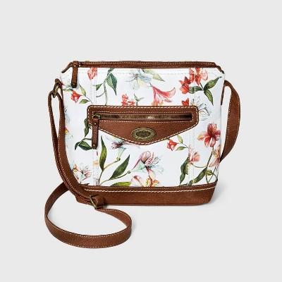 Concept Floral Print Crossbody Bag