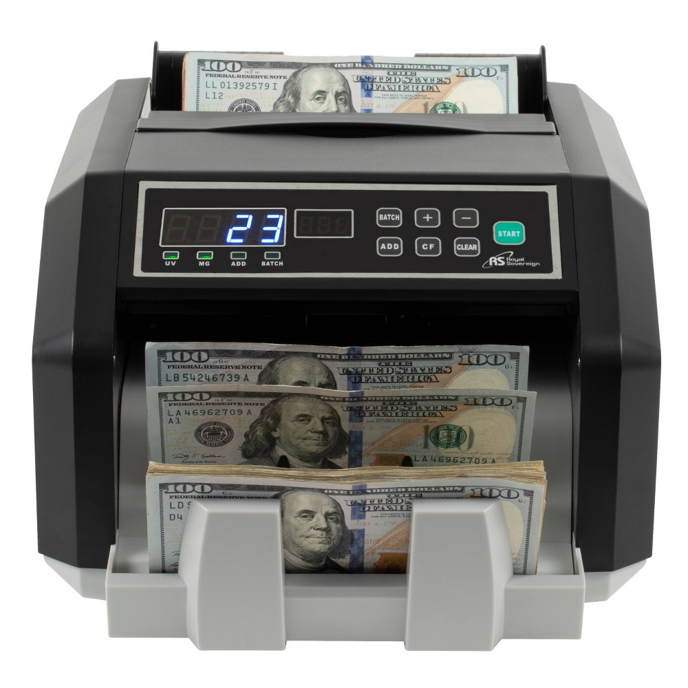 Image of High Speed Currency Counter - Royal Sovereign