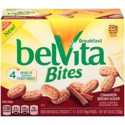 belVita Cinnamon Brown Sugar Breakfast Bites - 5ct