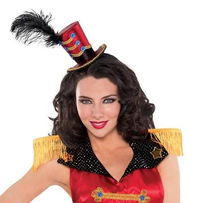 Adult Top Hat Headband Halloween Costume Headwear