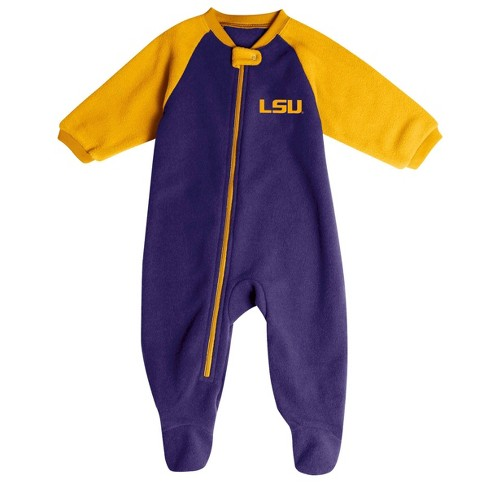 NCAA LSU Tigers Infant Blanket Sleeper - image 1 of 2