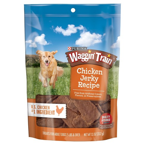 Purina Waggin Train Chicken Jerky Treat 11oz - image 1 of 3