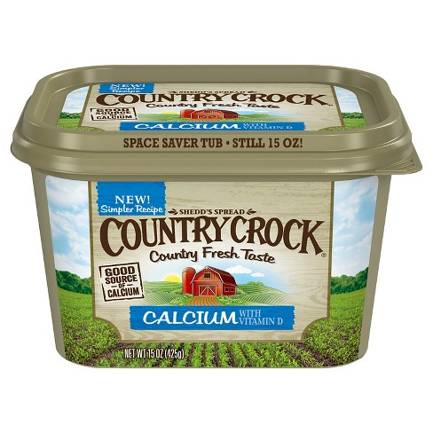Country Crock Calcium Vegetable Oil Spread Tub - 15oz - image 1 of 3