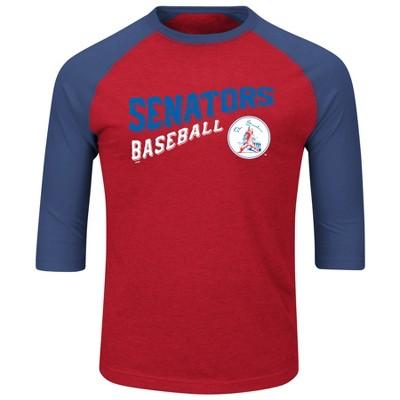 a160f1dd61b MLB Men s Vintage 3 4 Sleeve Raglan Crew Neck T-Shirt   Target