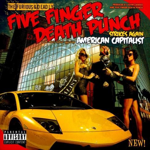 Five Finger Death Punch - American Capitalist [Explicit Lyrics] (CD) - image 1 of 1