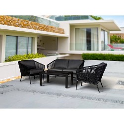 Standish 4pc Strap Patio Conversation Set - Project 62™
