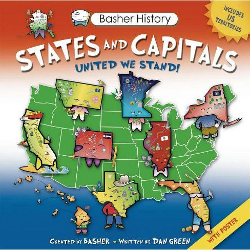 States and Capitals - (Basher History) by  Edward Widmer (Mixed media product) - image 1 of 1
