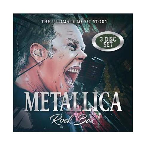 Metallica - Rock Box: The Music Story (CD) - image 1 of 1