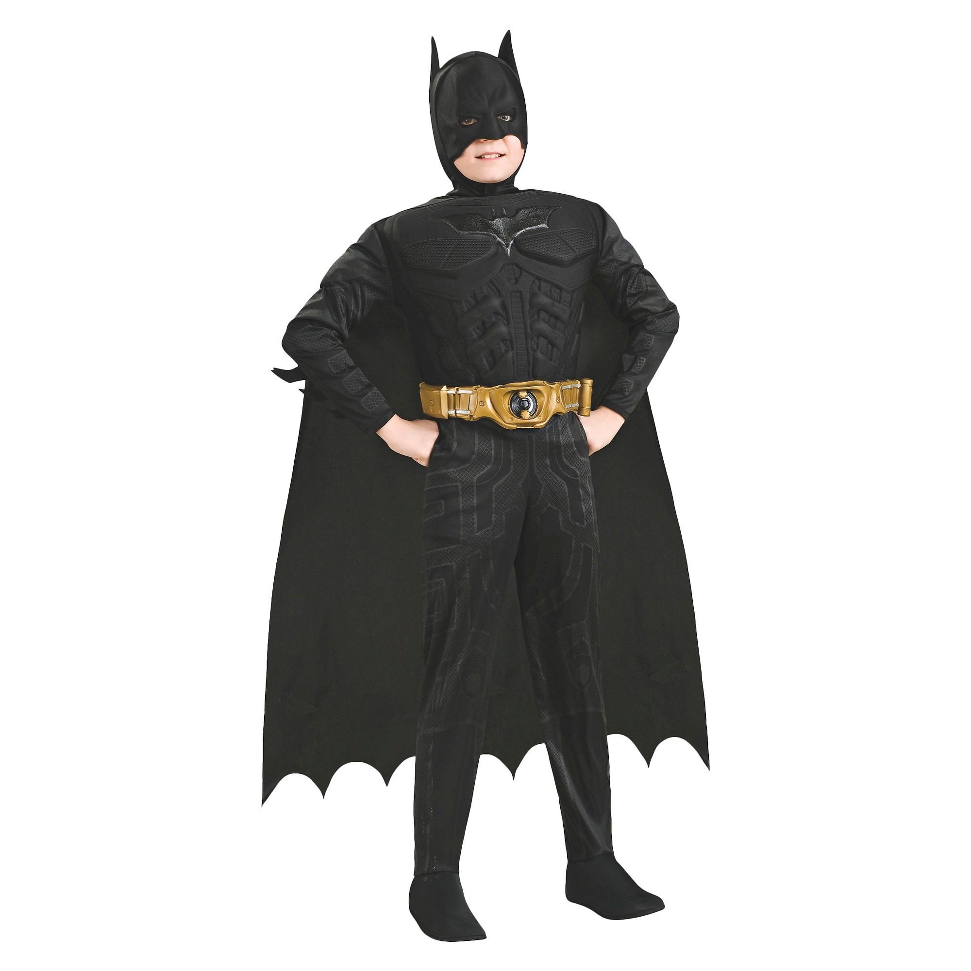 Halloween Boys' Batman The Dark Knight Rises Costume - M (7-8), Boy's, Size: Medium, Clear