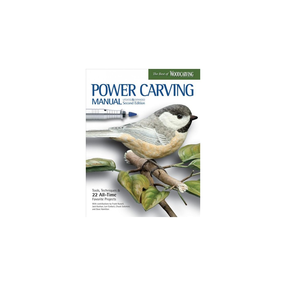 ISBN 9781565239036 product image for Power Carving Manual : Tools, Techniques, and XX All-time Favorite Projects (Pap | upcitemdb.com