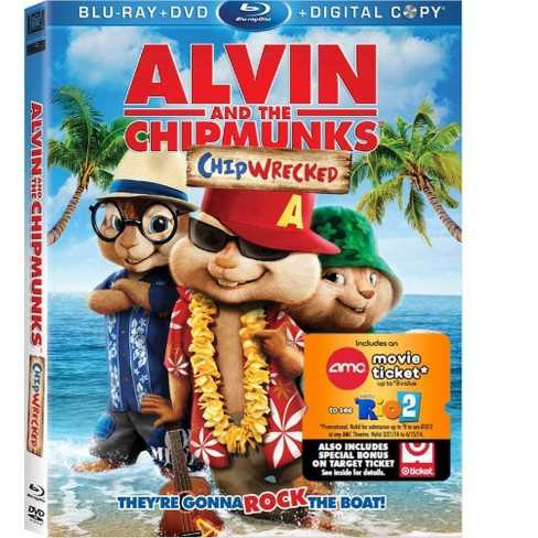 Alvin and the Chipmunks: Chipwrecked (Blu-ray) - image 1 of 1