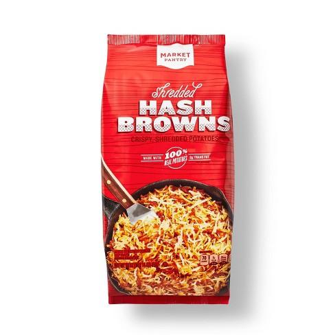 Frozen Shredded Hash Browns - 30oz - Market Pantry™ - image 1 of 2