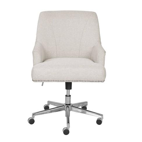 Leighton Home Office Chair Ivory Serta Target