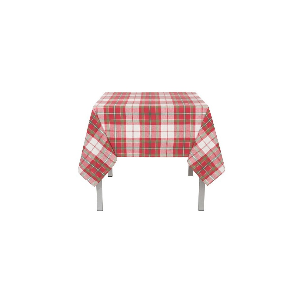 Image of Tablecloth Red Green Now Designs, Green Red