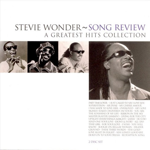 Stevie wonder - Song review:Greatest hits collection (CD) - image 1 of 1