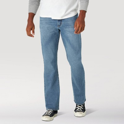 Wrangler Men's Straight Fit Jeans - Light Wash