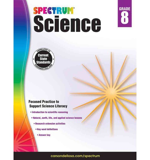 Spectrum Science, Grade 8 (Workbook) (Paperback) - image 1 of 1
