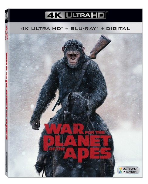 War For The Planet Of The Apes (4K/UHD + Blu-ray + Digital) - image 1 of 1