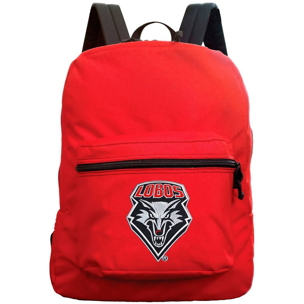Ncaa New Mexico Lobos Red Premium Backpack