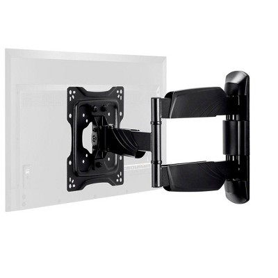 Monoprice TV Wall Mount Bracket For TVs 24in to 55in, Full-Motion Articulating, Max Weight 77lbs, VESA Patterns Up to 400x400, Rotating, UL Certified