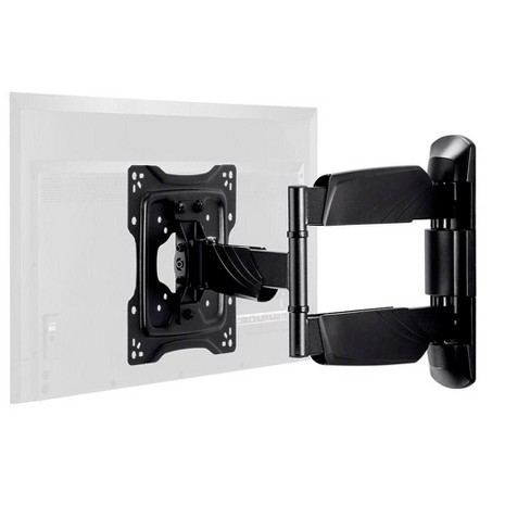 Monoprice TV Wall Mount Bracket For TVs 24in to 55in, Full-Motion Articulating, Max Weight 77lbs, VESA Patterns Up to 400x400, Rotating, UL Certified - image 1 of 4