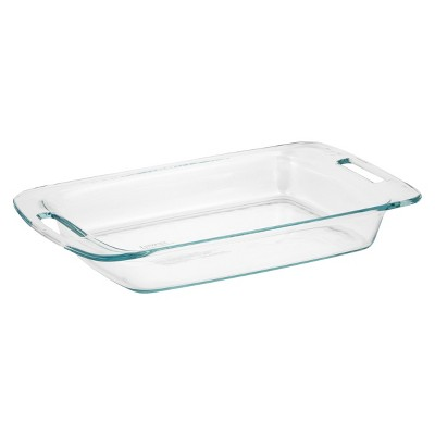 Pyrex 3qt Oblong Glass Baking Dish