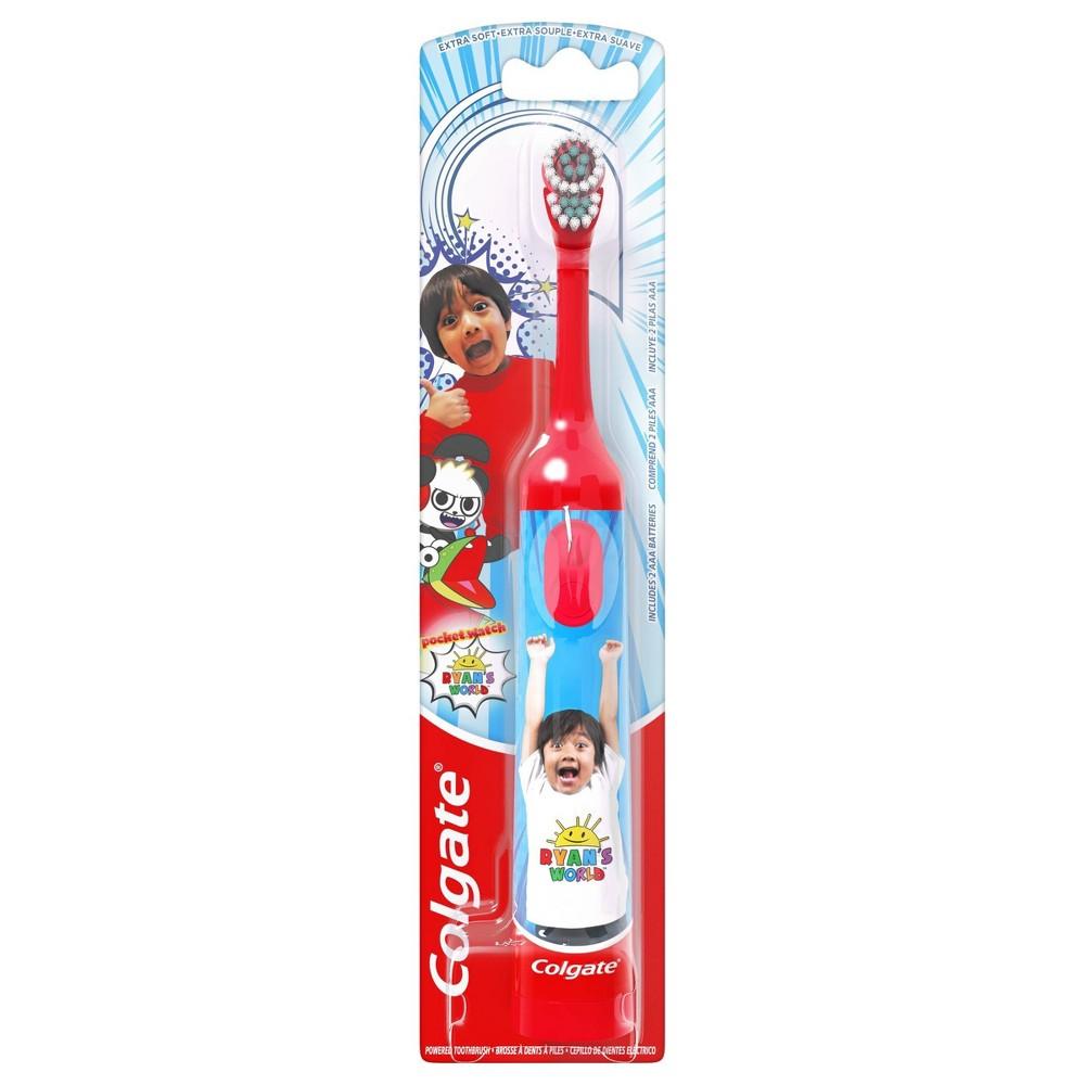 Image of Colgate Kids Battery Powered Toothbrush Ryan's World Extra Soft - 1ct