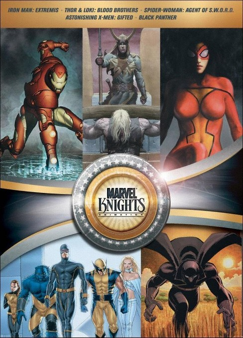 Marvel knights gift set (DVD) - image 1 of 1
