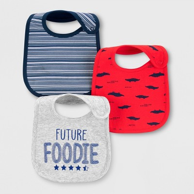 Baby 3pk Bibs - Just One You® made by carter's One Size