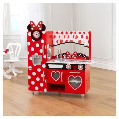 KidKraft Disney Jr. Minnie Mouse Vintage Play Kitchen : Target