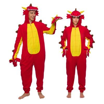 Funziez! Hydra Dragon Slim Fit Adult Unisex Novelty Union Suit