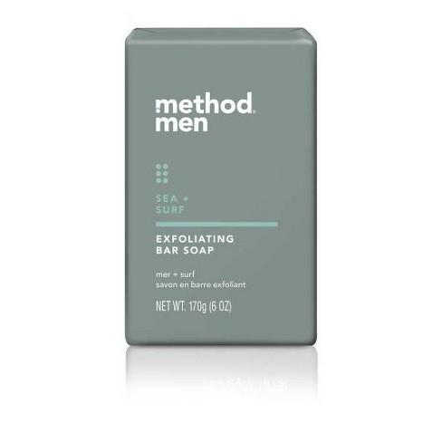 Method Men Exfoliating Bar Soap - 6oz - image 1 of 4