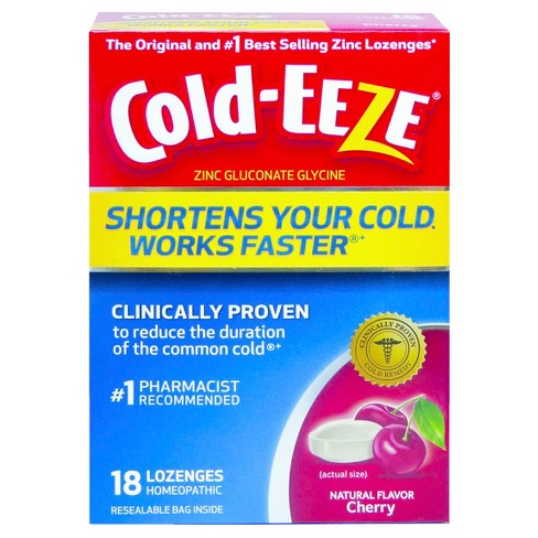 Cold-Eeze Cold Remedy Lozenges - Cherry - 18ct - image 1 of 1