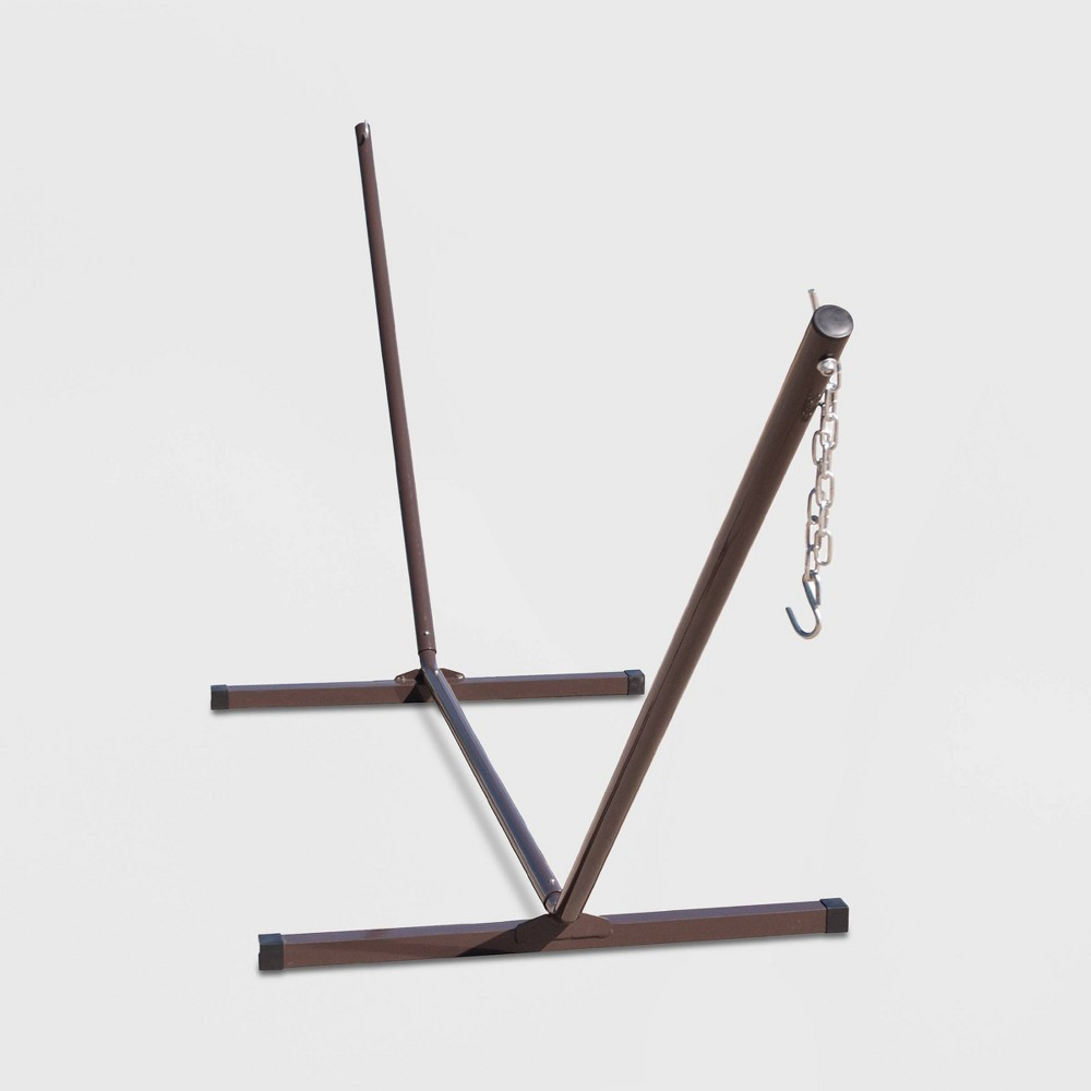 Image of 12' Two-Point Patio Hammock Stand - Black/Bronze - Algoma