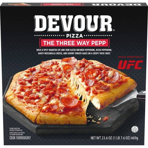 Devour The Three-Way Pepp Frozen Pizza - 23.6oz - image 1 of 3