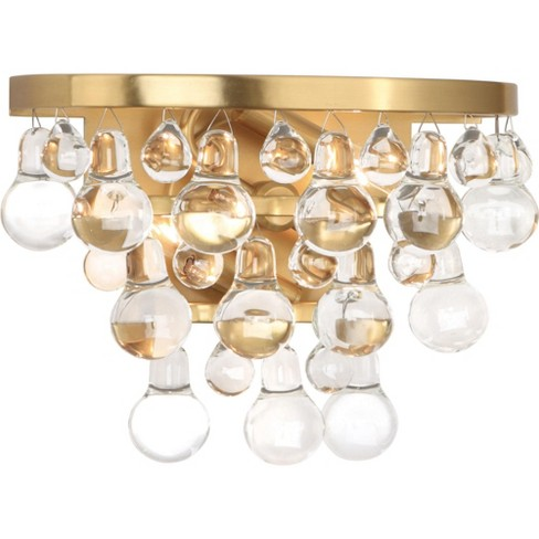 """Robert Abbey Bling Wall Bling 9"""" Bathroom Sconce - image 1 of 2"""