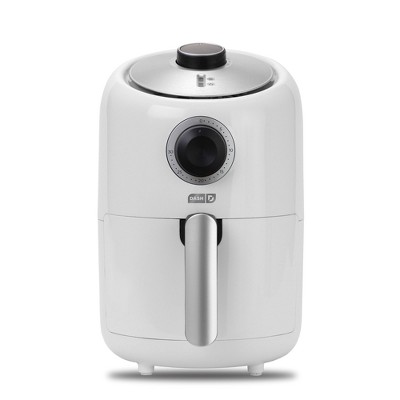 Dash 900W 1.2qt Single Basket Compact Air Fryer - White