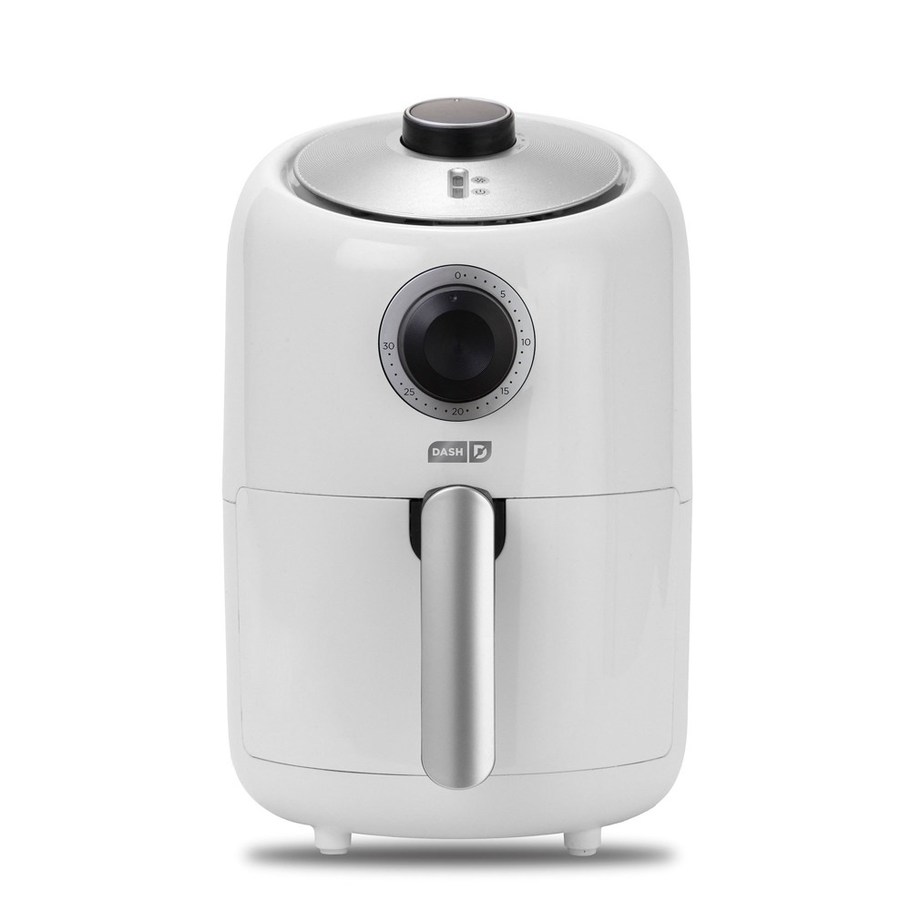 Image of Dash 900W 2qt Single Basket Compact Air Fryer White