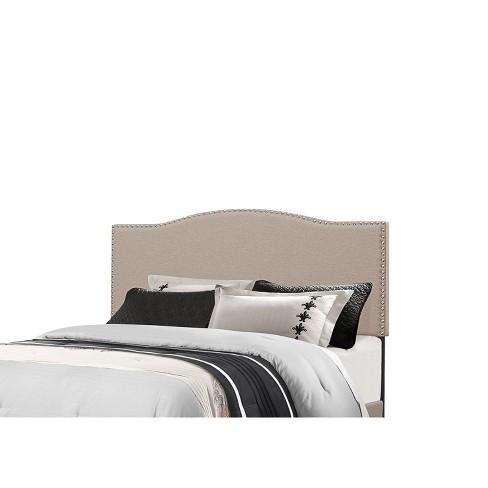 King Kiley Metal Headboard Frame Included Fog Hillsdale Furniture Target