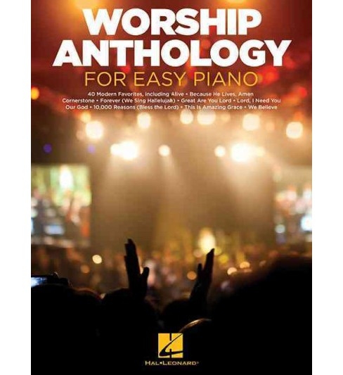 Worship Anthology for Easy Piano (Paperback) - image 1 of 1