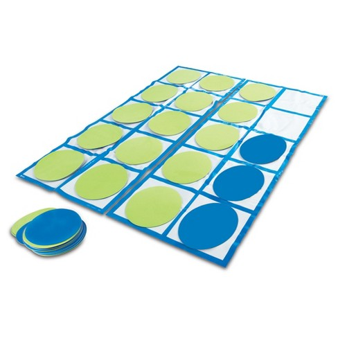 Learning Resources Ten-Frame Floor Mat Set - image 1 of 7