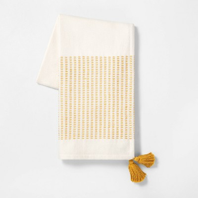 Stripe Throw Blanket Gold - Hearth & Hand™ with Magnolia