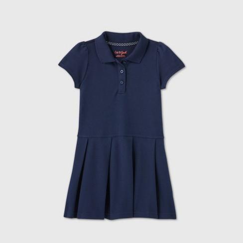 Toddler Girls' Short Sleeve Pleated Uniform Tennis Dress - Cat & Jack™ - image 1 of 2