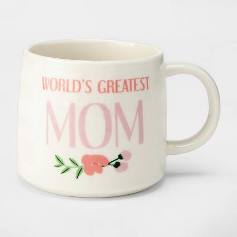 c701f56941b 17oz Porcelain World's Greatest Mom Mug White - Threshold™ : Target