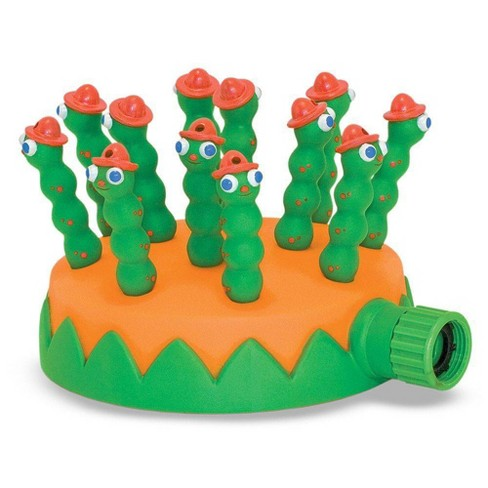 Melissa & Doug Sunny Patch Grub Scouts Sprinkler Toy With Hose Attachment - image 1 of 3