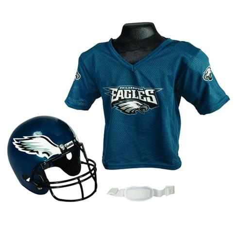 official photos d8f61 49969 Franklin Sports NFL Team Helmet and Jersey Set - Ages 5-9 - Philadelphia  Eagles